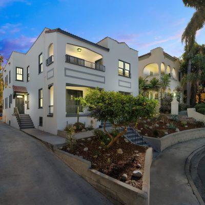 Exterior - 854 Serrano Pl Los Angeles